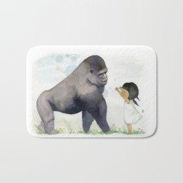 Hug me , Mr. Gorilla Bath Mat