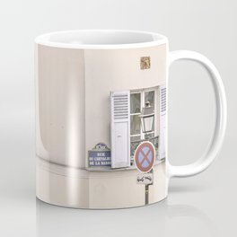 Paris, street view of Montmartre - charming France Coffee Mug