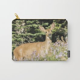 Breakfast and Flowers Carry-All Pouch