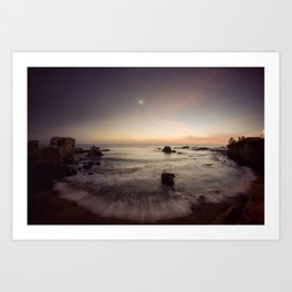 Venus Jupiter Conjunction 2008 Art Print