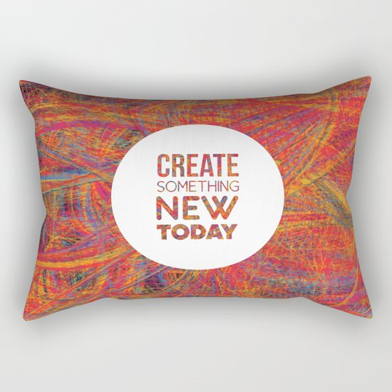 Create! Rectangular Pillow