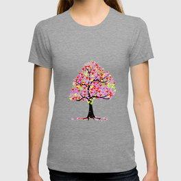 Summer Hearts Tree T-shirt