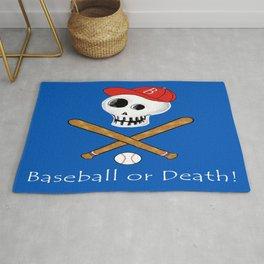 Baseball or Death! Rug
