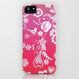 Birds, Flowers, etc. iPhone Case