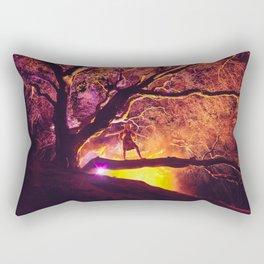 Midnight Spell Rectangular Pillow