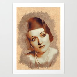 Constance Bennett, Hollywood Legend Art Print