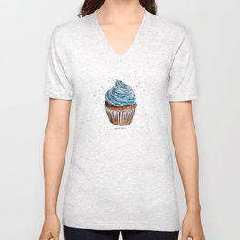 Hungry for Cupcakes Unisex V-Neck