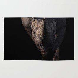 Black Rhino Charge Rug