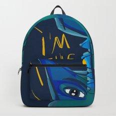 I am the sun i am the life street art graffiti Backpack