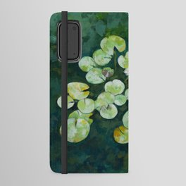 Tranquil lily pond Android Wallet Case