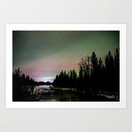 Crooked River Lights Art Print