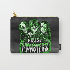 House of Monsters Phantom Frankenstein Dracula classic horror  Carry-All Pouch