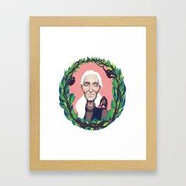 Jane Goodall Framed Art Print
