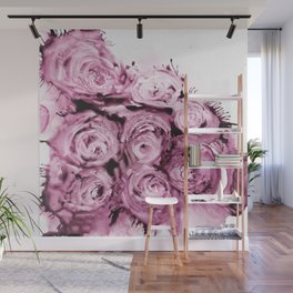 Muted roses Wall Mural