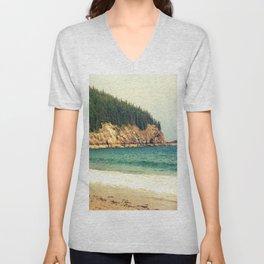 Sand Beach Unisex V-Neck