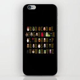 St_ar Wars Alphabet 3 iPhone Skin