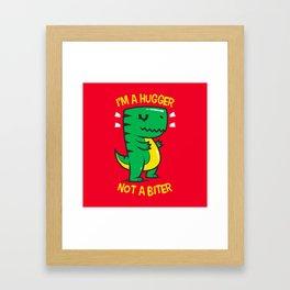 Hugger Biter Framed Art Print