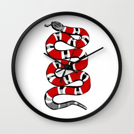 Snakey Wall Clock