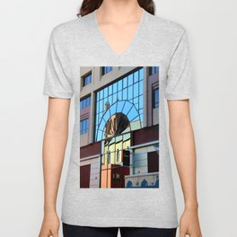 My Favorite Church Window Unisex V-Neck