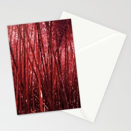 Red Bamboo Stationery Cards