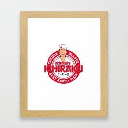 Ichiraku Ramen Konoha Framed Art Print
