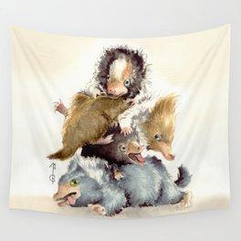 Niffler babies Wall Tapestry
