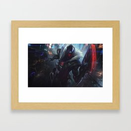 PROJECT Jhin League of Legends Framed Art Print