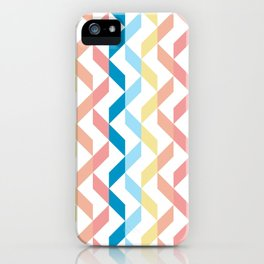 Ordered Peaches by the Sea iPhone Case