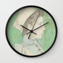 Portrait of Nurse Nelly, Jan Toorop, 1894 Wall Clock