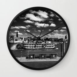 paddle steamer Wall Clock