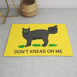 Don't Knead On Me Rug