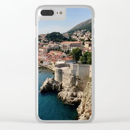 King's Landing, Dubrovnik Clear iPhone Case
