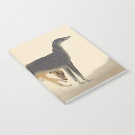 Two Greyhounds Notebook