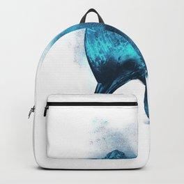 Hard Headed Graphic Neon Beard Backpack
