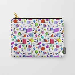 Geometric Universe Pattern Design Carry-All Pouch