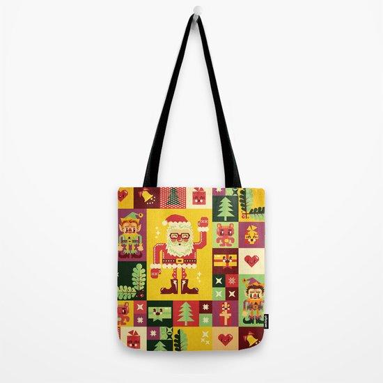 Christmas Geometric Pattern No. 1 Tote Bag