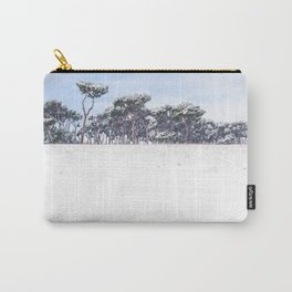 Snowy pine grove Carry-All Pouch