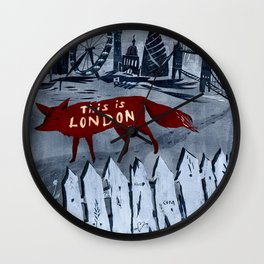 Locals/Only - London Wall Clock
