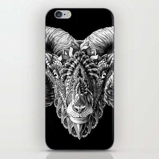 Ram Head iPhone & iPod Skin
