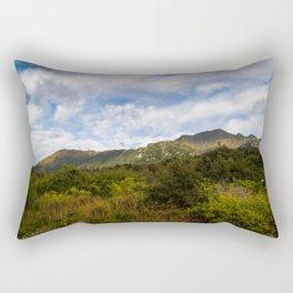Scenic Greenery- New Zealand Rectangular Pillow