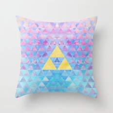 Zelda Geometry Throw Pillow