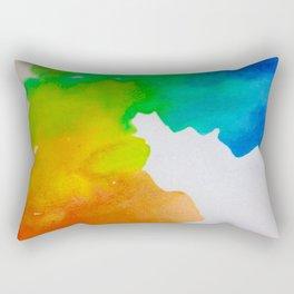 Murky Colour Rectangular Pillow