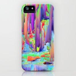 Pixel Sorting 43 iPhone Case
