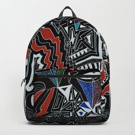 Maze Cones (dark) Backpack
