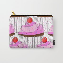 Sprinkle Cupcake Pattern Carry-All Pouch