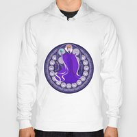 evil queen Hoodies featuring Evil Queen  by NicoleGrahamART
