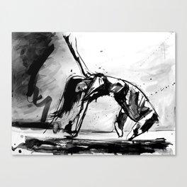 Ruban Noir, Danseur Canvas Print