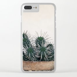 cactus I Clear iPhone Case