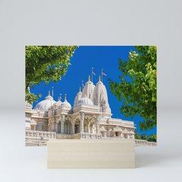 BAPS Shri Swaminarayan Mandir Mini Art Print