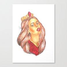 Princess Lana Canvas Print